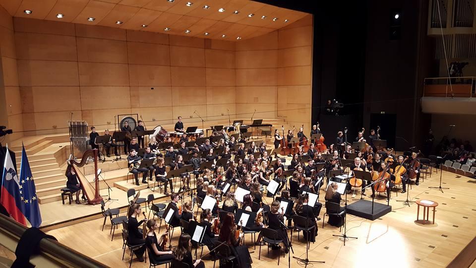 Osrednji koncert, pod pokroviteljstvom predsednika države, Boruta Pahorja